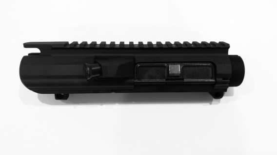 .308 Stripped Upper Receiver, Forward Assist , Dust Cover Black Anodized