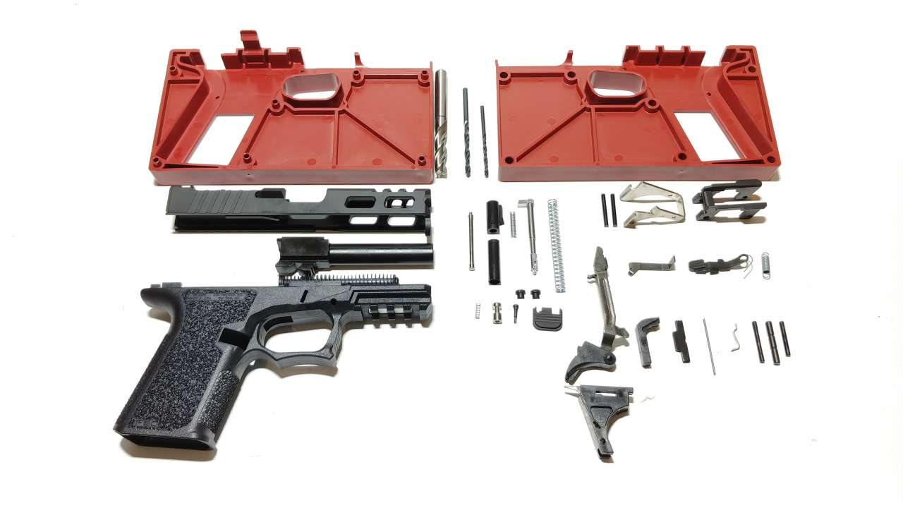 GLOCK 19 COMPLETE 80% BUILD KIT - Thunder Tactical