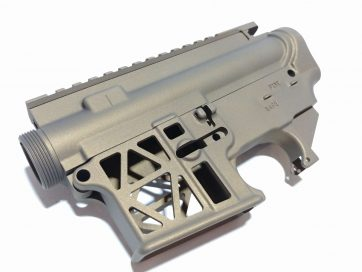 AR-15 Skeleton 80% Lower and Upper