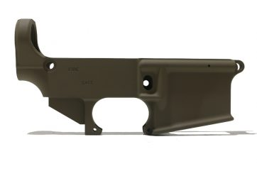 AR-15 FDE 80% Lower Receiver