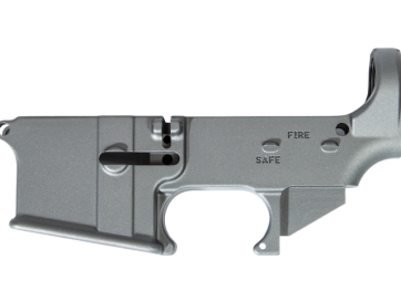 Tungsten Titanium 80% Lower Receiver