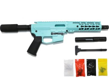 9 MM Cerakote Tiffany Blue Pistol Kit