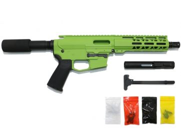 9 MM Cerakote Zombie Green Pistol Kit