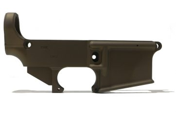Burnt Bronze 80% Lower Receiver