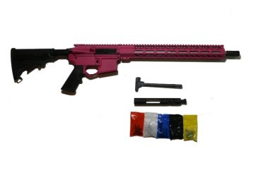 AR-15 Cerakote Pink Rifle Kit