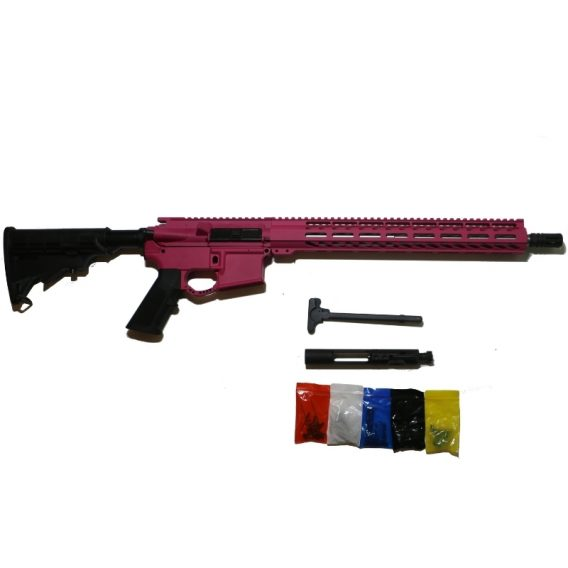 AR-15 Pink Complete Rifle Kit