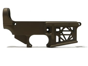AR-15 SKELETON 80% LOWER - BRONZE