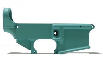AR-15 Tiffany Blue Cerakote-Coated 80% Lower Receiver
