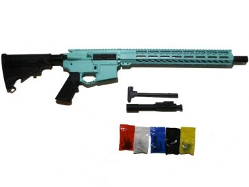 AR 15 Tiffany Blue Complete Rifle Kit