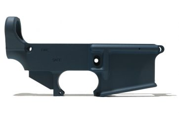 AR-15 Titanium Blue 80% Lower Receiver