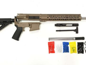AR-15 rifle kit