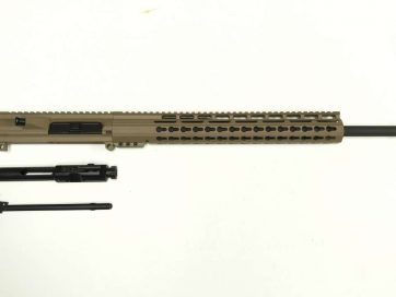".308 Cerakote FDE Upper Assembly, and FDE 15"" Keymod Rail"