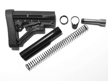 9MM Rifle Stock Kit Assembly Black