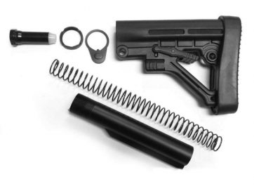 .308 Rifle Stock Kit Assembly Black